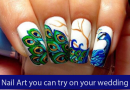 Creative Nail Art you can try on your Wedding